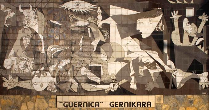 El Guernika, de Pablo Picasso.