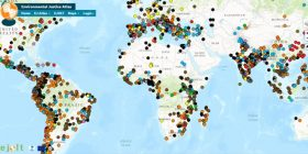Crean mapa interactivo que muestra los conflictos ecológicos del mundo