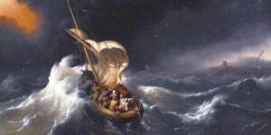 Una iglesia que vuelve a ser barca