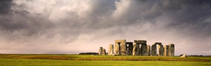 Templo de piedra enStonehenge, Inglaterra.