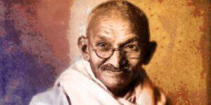 Jesús y el Mahatma Gandhi