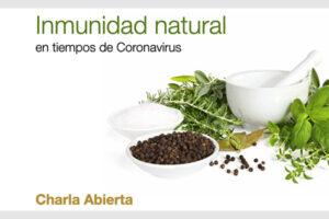 Inmunidad natural en tiempos de coronavirus