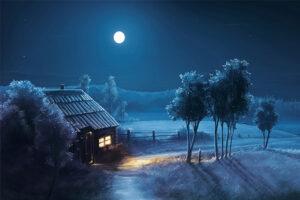 La niña que iluminó la noche