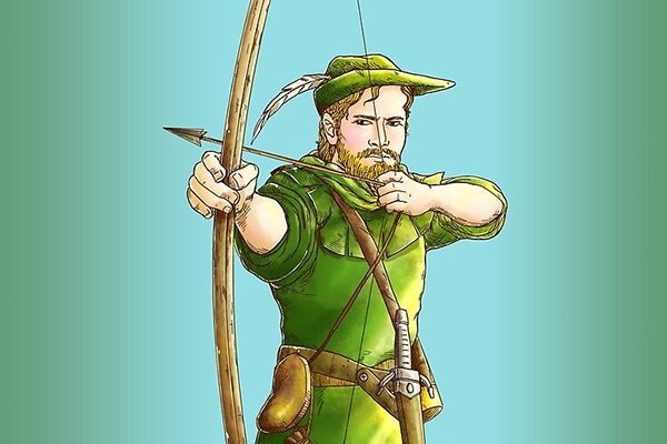 Robin Hood y la flecha de plata