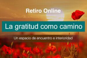 Retiro online: La gratitud como camino