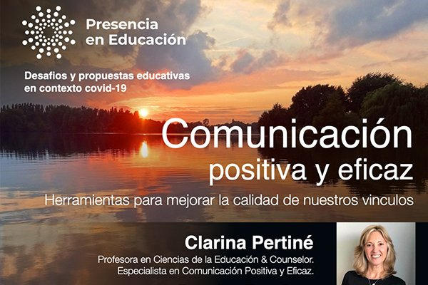 Comunicación positiva y eficaz