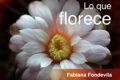 Lo que florece