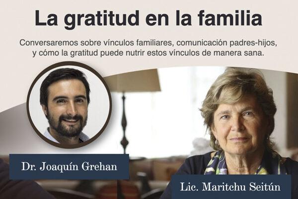 La gratitud en la familia